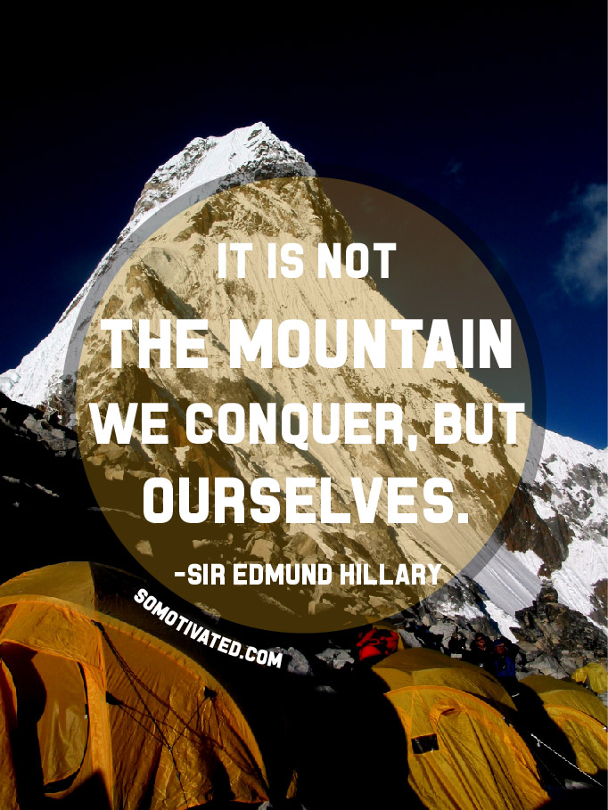 Conquer Ourselves